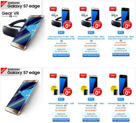 Harga Samsung S7 Edge Dan Spesifikasi resmi ini harga samsung galaxy s7 dan galaxy s7 edge di