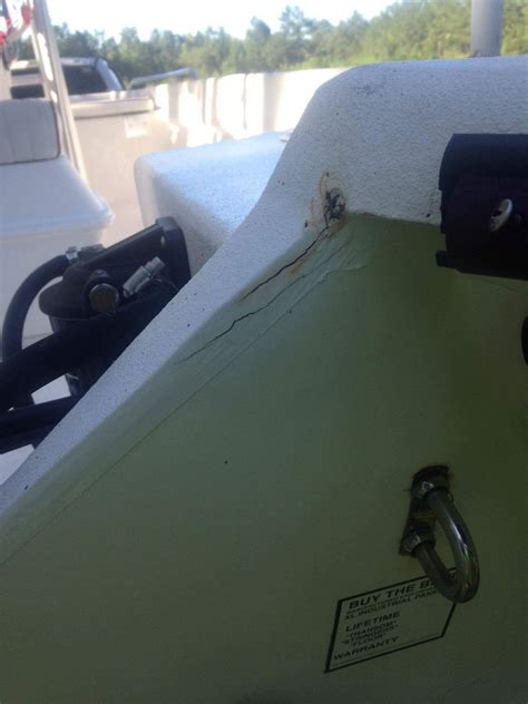 boat transom cracks cape craft transom cracks the hull truth boating and