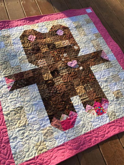 Teddy Quilts by Roly Poly Teddy Quilt Favequilts