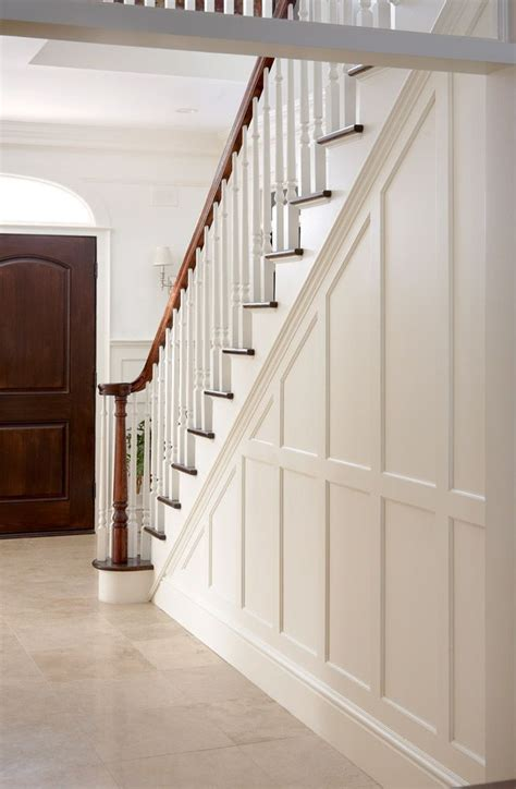 stair wainscot for the home pinterest