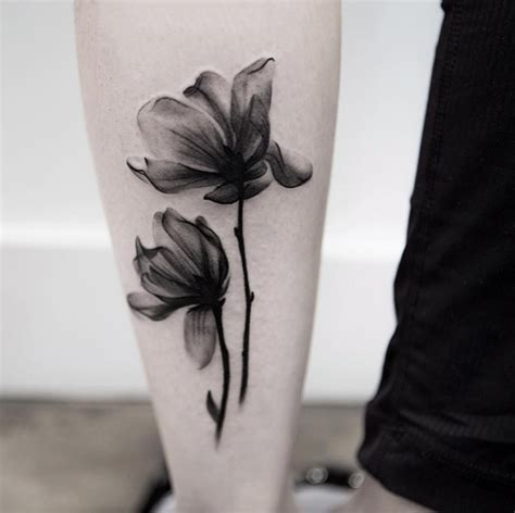 35 x ray flower tattoos that will take your breath away