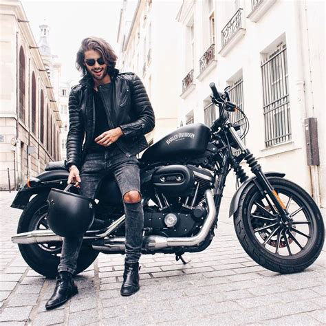 mens black biker style boots best 25 biker style ideas on biker jacket