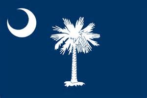 south carolina flag symbols usa