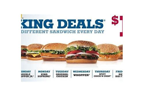 burger king deals of the day canada