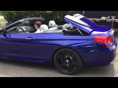 san marino blue m6 convertible youtube