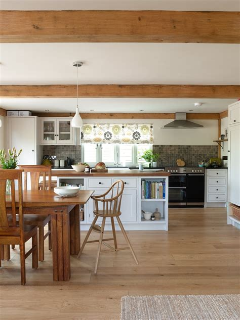 a semi bespoke kitchen design for a barn conversion
