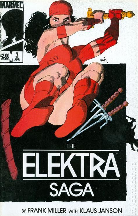 libro elektra by frank miller elektra saga 1984 comic books