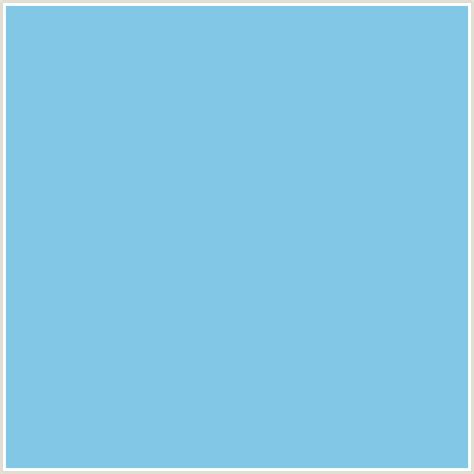 Light Blue Hex Code by 82c8e6 Hex Color Rgb 130 200 230 Light Blue Seagull