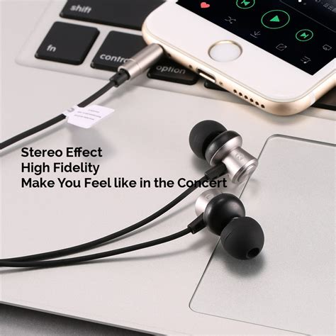 Wk Wired Earphone Wi290 wk design wi300 in ear 3 5mm metal stereo high fidelity wired earphone with mic alex nld