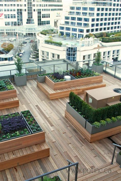 Outdoor Patio Design Vancouver 25 Trending Rooftop Gardens Ideas On Roof