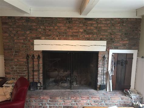 redoing brick fireplace brick fireplace redo or not