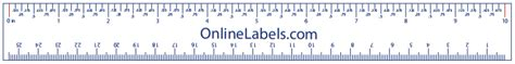 printable 12 inch ruler download free online printable ruler flexible online ruler to