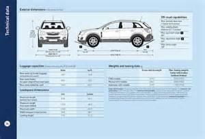Vauxhall Antara Dimensions Page 34 Of 2011 New Vauxhall Antara