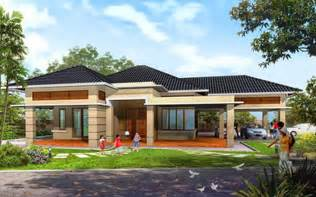 Single Story House by One Story Home Design Wallpaper Kuovi