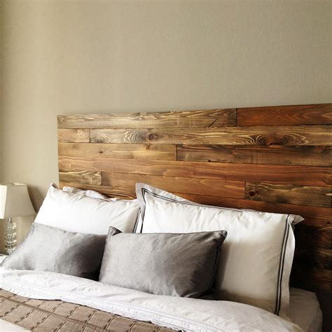 Handmade Bed Headboards - cedar barn wood style headboard handmade in usa