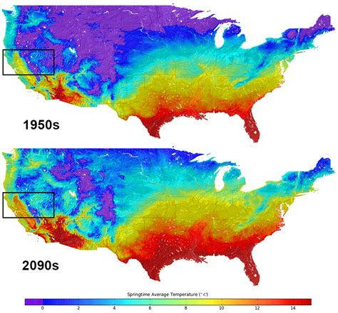 united states climate map new u s climate map shows temperature changes in hd how