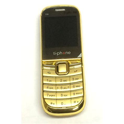 Ti Phone T20 jual tiphone t20 gold limited edition hp terjual