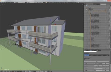 blender 3d tutorial architecture project development for architecture with blender