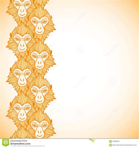 new year border monkey background new year border happy new year 2018 pictures