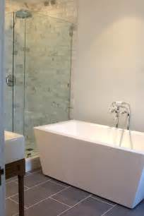modern freestanding tub modern bathroom kishani perera