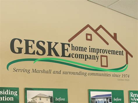our new work at geske home improvement lifewall