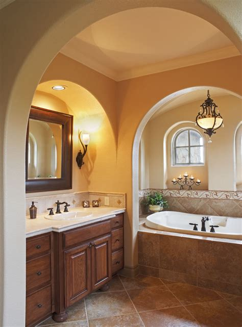 mediterranean bathroom design sensational discount arch mirrors decorating ideas gallery