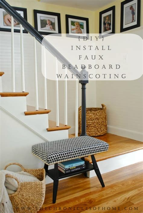 beadboard stairs how to beadboard stairs makeover complete the