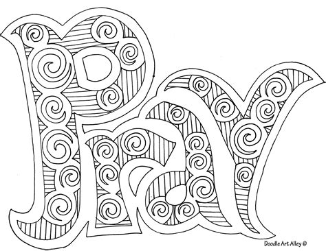 free coloring pages of pray god