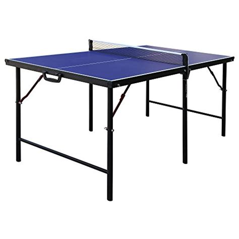 folding ping pong table top hathaway crossover portable table tennis table 60 inch