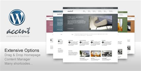 themeforest download old version accent box clean wp theme for business portfolio of the