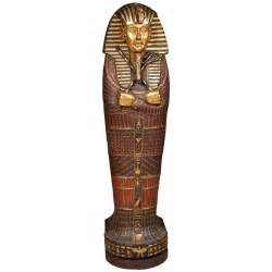 Egyptian mummy sarcophagus style cd cabinet at 1stdibs