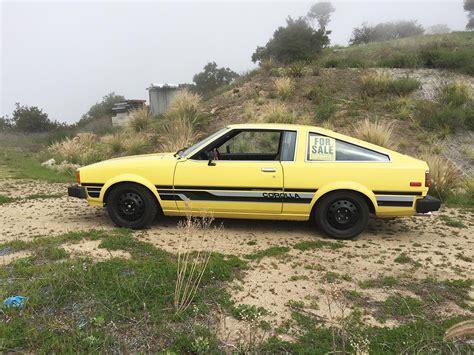 toyota garage garage found 1980 toyota corolla liftback