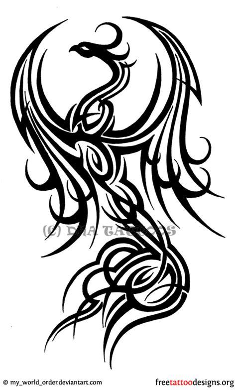 tattoo phoenix tribal phoenix tattoos 75 cool designs