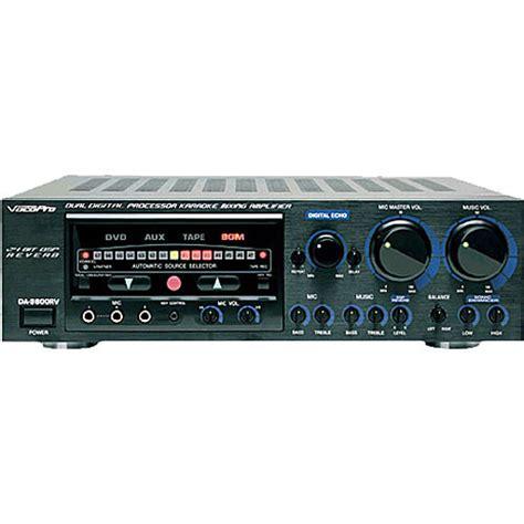 Karaoke Mixer Lifier Ma 1600 vocopro da 9800rv karaoke mixing lifier da 9800rv b h photo