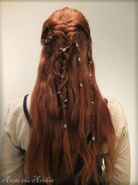 vikings hbo beaided hair viking hairstyle tumblr