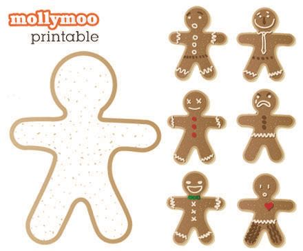 printable gingerbread man clothes fun freebie gingerbread free printable and activities