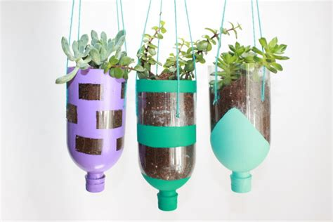 water bottle crafts for how to make a diy planter craft out of recycled water