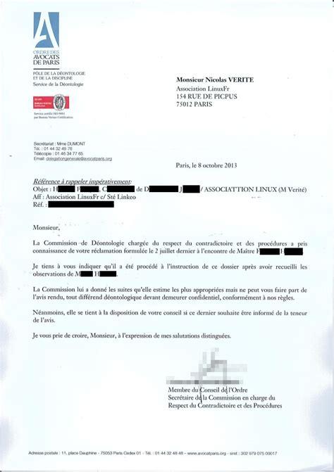 Exemple De Lettre De Mise En Demeure Belgique Mise En Demeure Suite Et Fin Linuxfr Org