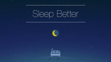 sleep better app runtastic sleep better app