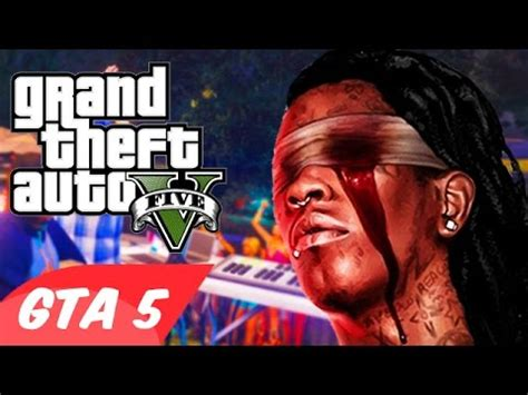 "gta 5 ""young thug & travis scott – pick up the phone"" parody!"