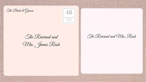 how to address a wedding invitation catholic priest how to address wedding invitations southern living