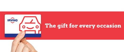 Irving Gas Gift Card - irving oil irving oil gas cards are perfect for customers friends and family