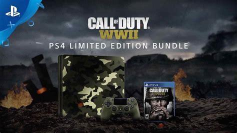 Ps4 Cod World War Ii Call Of Duty Wwii Pro Edition Reg 3 1 call of duty world war ii ps4 bundle