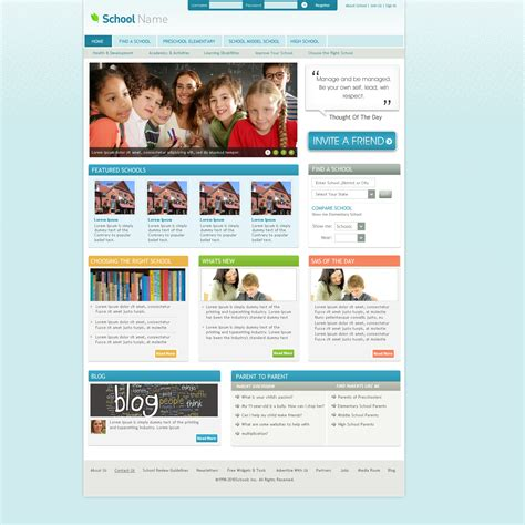 joomla site templates school joomla website template by think360studio on deviantart
