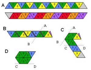 How To Make A Paper Hexaflexagon - engenharia de papel paper engineering ingenier 237 a de