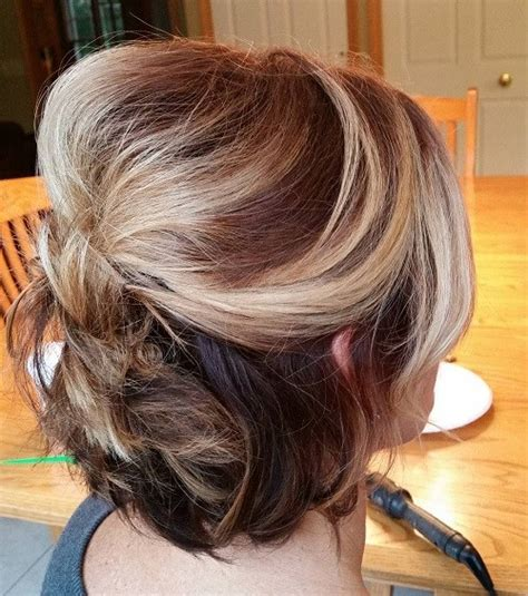 partial updos for older women with medium length hair half up half down wedding hairstyles 50 stylish ideas