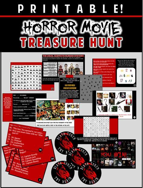 movie themes quiz horror movie party game printable horror flick trivia