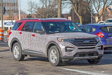 2020 Ford Explorer 1 by 2020 Ford Explorer Looks Plasticky In Most Revealing