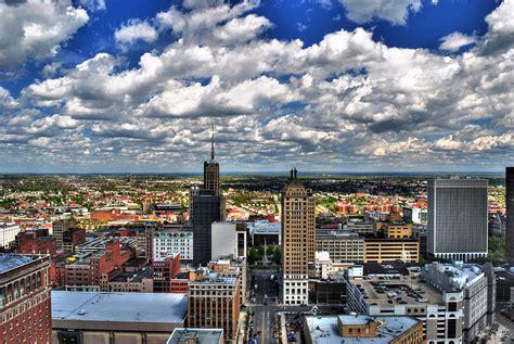 Phone Lookup Buffalo Ny Beautiful Day Birds Eye View Of Buffalo Ny And Surrounding Areas Photograph By Michael