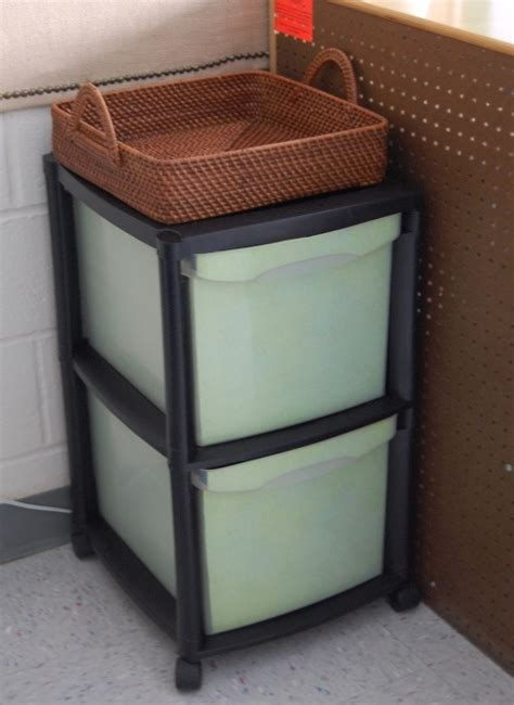 Plastic File Cabinet by Sprucing Up A Plastic File Cabinet How To